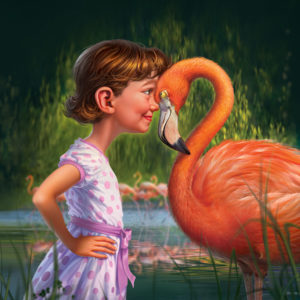 Girl-with-Flamingo-300×300